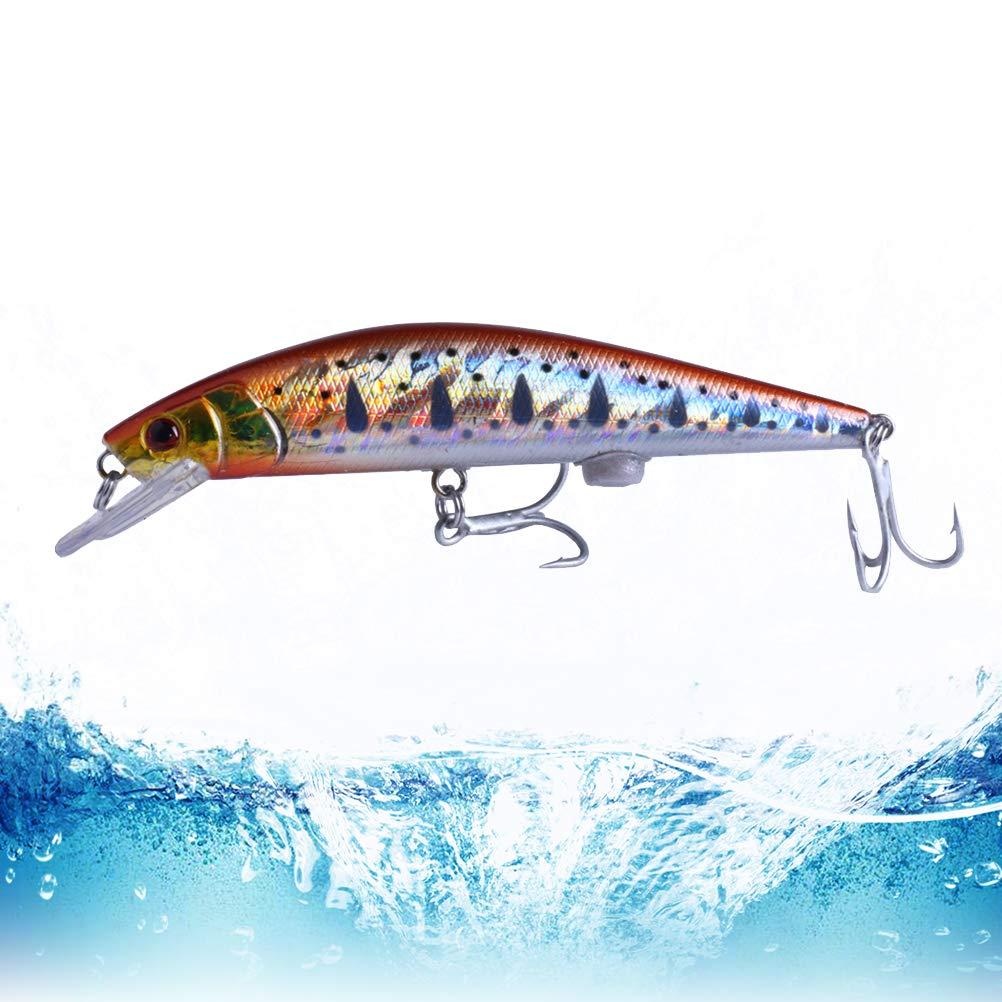 mod/èle MI112 VORCOOL Charge de p/êche leurre app/ât app/âts artificiels app/âts r/éalistes Segment de p/êche swimbait Accessoires
