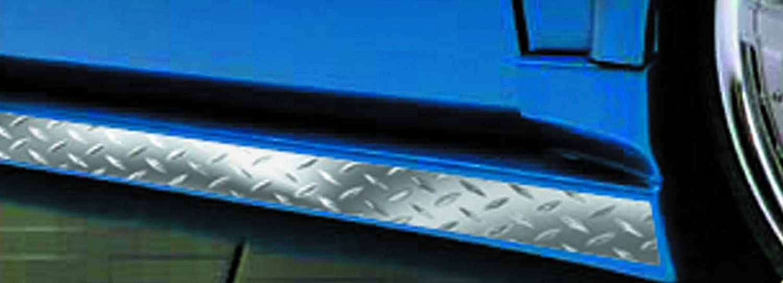 Chroma 3107 Silver 3 x 5 Diamond Plate Roll Tape Decal