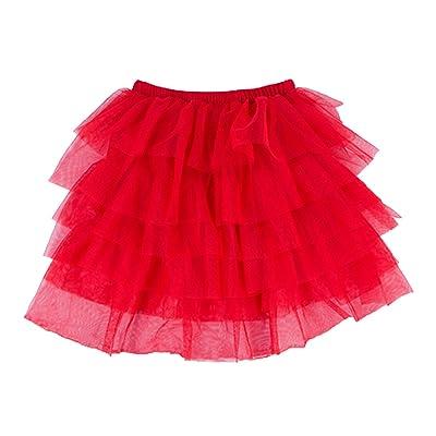 Baby Dress 2-8Y Children Skirts Fluffy Skirt Tulle Cake Skirt Princess Student Party Dress