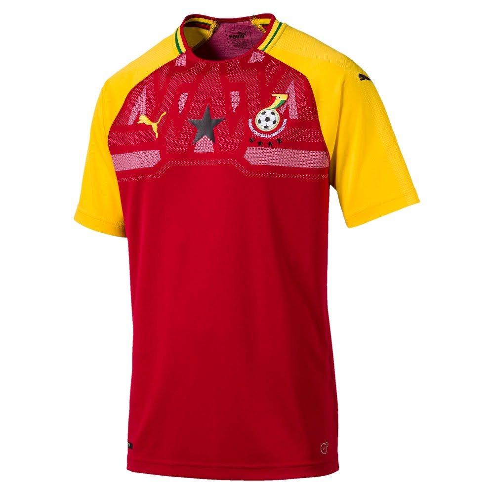 Puma Herren Gfa Ghana Home Shirt Ss Replica Ss Shirt 6b269b