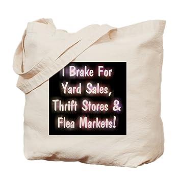 Amazon.com  CafePress - I Brake For Yard Sales, Thrift Stores Fl ... aad3d3e386