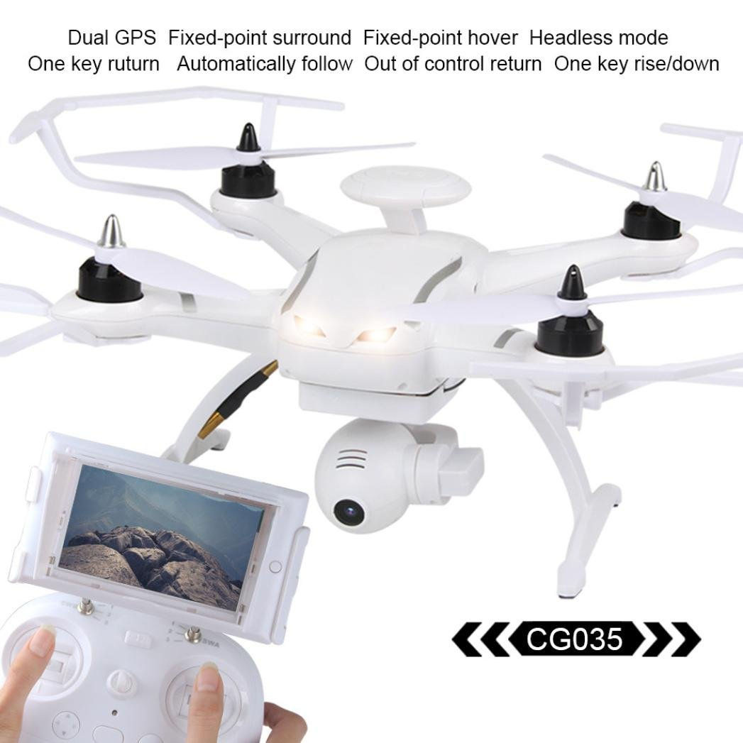 RC Drone,ABCsell AOSENMA CG035 RC Drone WiFi Helicopter FPV HD 1080P Gimbal Camera Double GPS Brushless Quadcopter