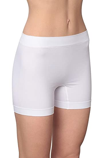 a5a0a6429c8b Hanes Women's Flawlessly Smooth Boxer (2 Pack) at Amazon Women's Clothing  store: