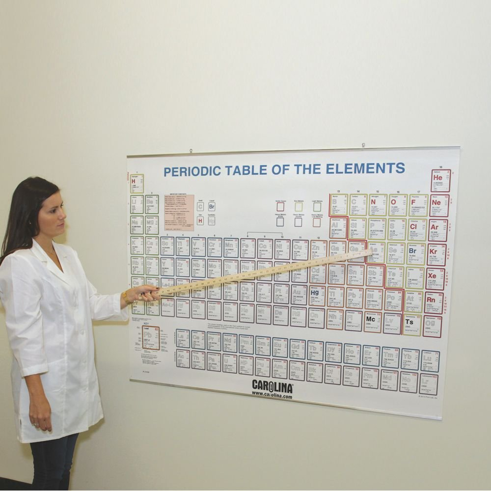 Amazon periodic table of the elements chart aluminum binding amazon periodic table of the elements chart aluminum binding industrial scientific gamestrikefo Image collections