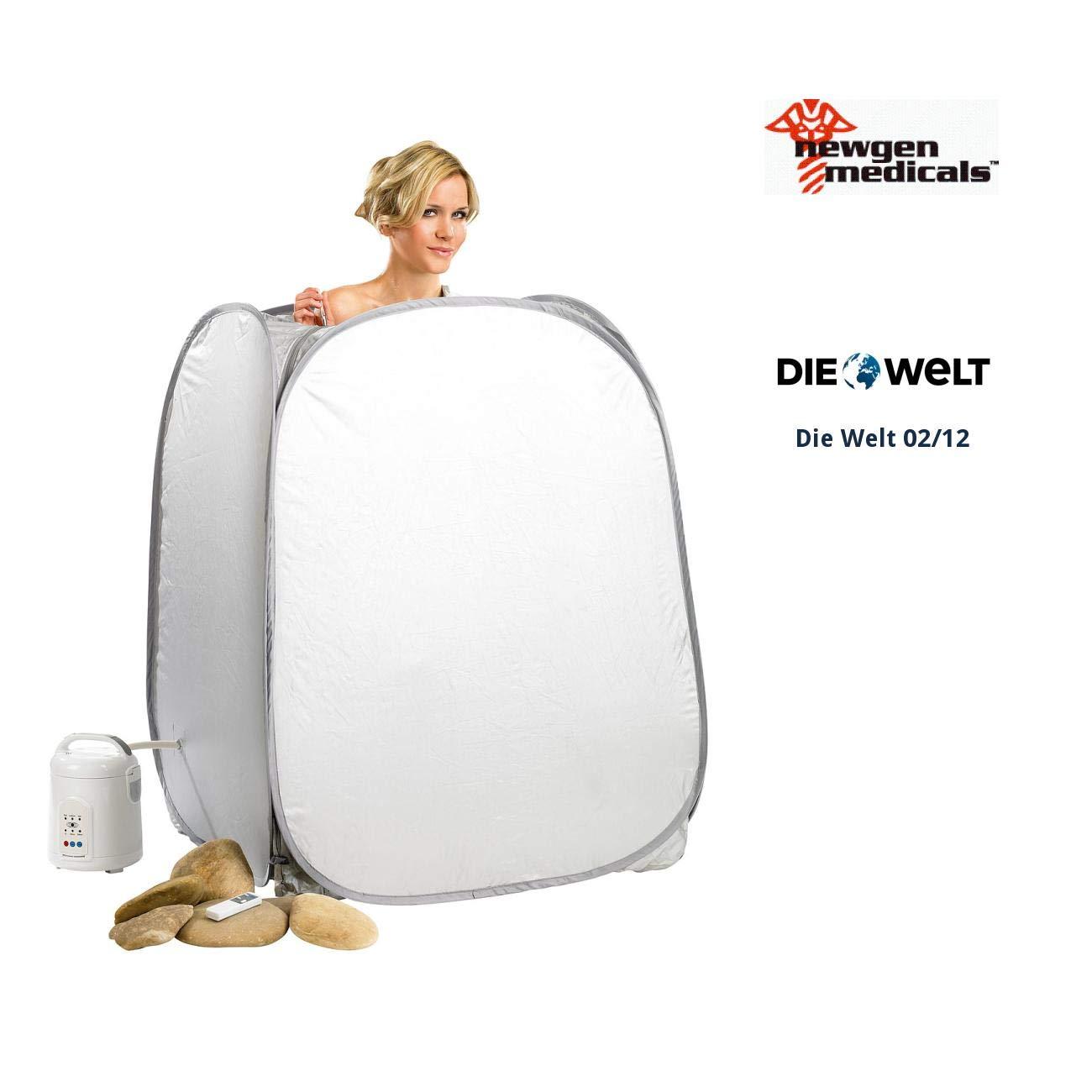Newgen Medicals Aufblasbare Sauna Portables Heim Dampfbad Und Prime Genset Pr1200cl 850watt Mit 850 W Generator Dampfsauna Baumarkt