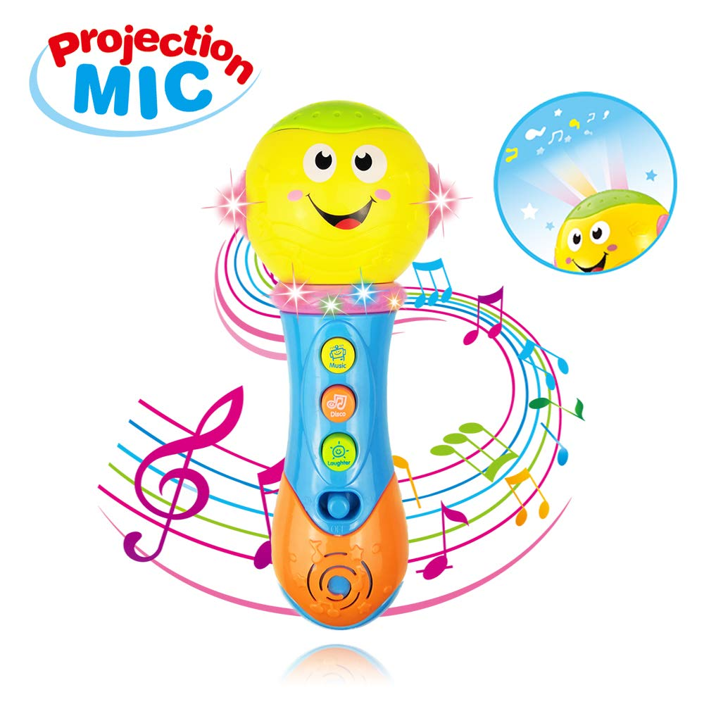 Toy for 6-12 Month Baby Toddler, Toy Microphone for 9-18 Month Girl Boy Toys Gift for 1-3 Year Old Babies Girl Music Toy for 12-24 Month Toddler Boys Birthday Gift Toy Age 1 2 3 by Jeacy (Image #1)