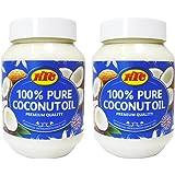 KTC - Huile de noix de coco pure - multi-usage - 2 x 500 ml
