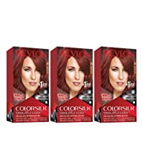 Revlon Colorsilk Beautiful Color, Permanent Hair Dye with Keratin, 100% Gray Coverage...
