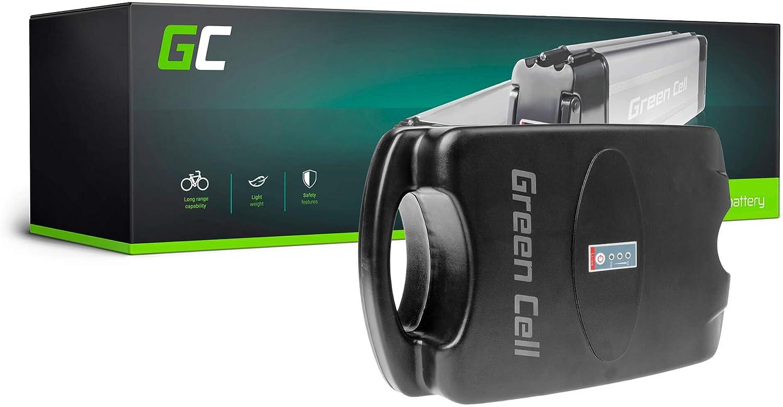 GC/® Batterie E-Bike 36V 11.6Ah V/élos /Électriques Pedelec Rear Rack avec Chargeur et Cellules Panasonic Voltbike Emu Roux Lightspeed