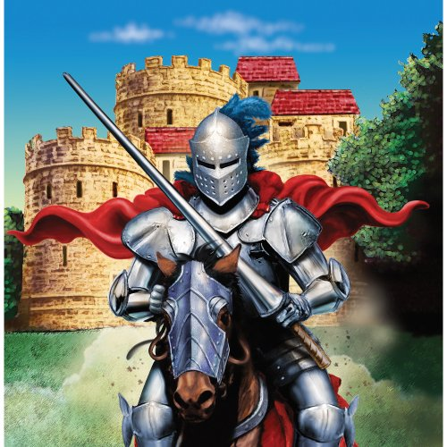 Creative Converting Valiant Knight 16 Count 3-Ply Paper Lunch Napkins]()