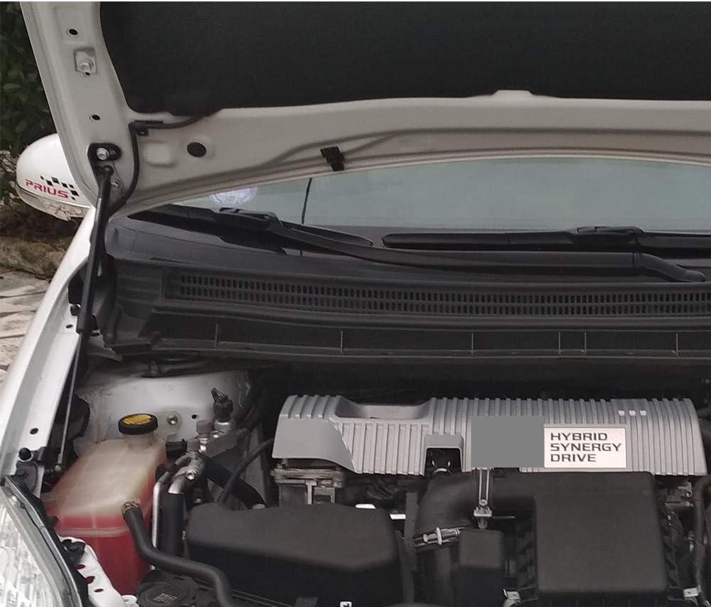JINGLINGKJ f/ür Prius 2009 2015 Motorhaube vorne Gasdruckfedern sind ein bestimmtes Fahrzeugmodell konzipiert 2pcs