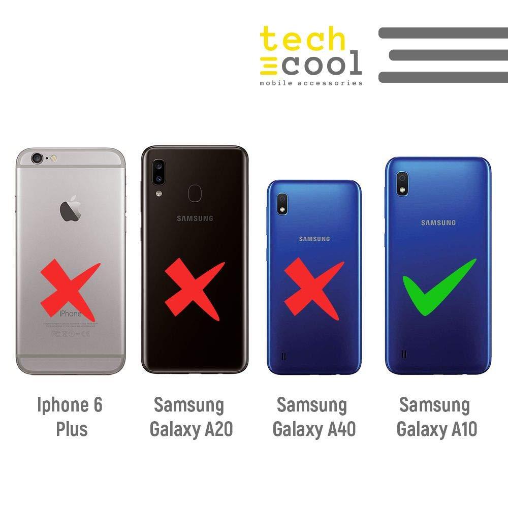 Dise/ño pelicula Dinosaurios Fondo Azul Gel Silicona Flexible, Dise/ño Exclusivo Funnytech/® Funda Silicona para Samsung Galaxy A10