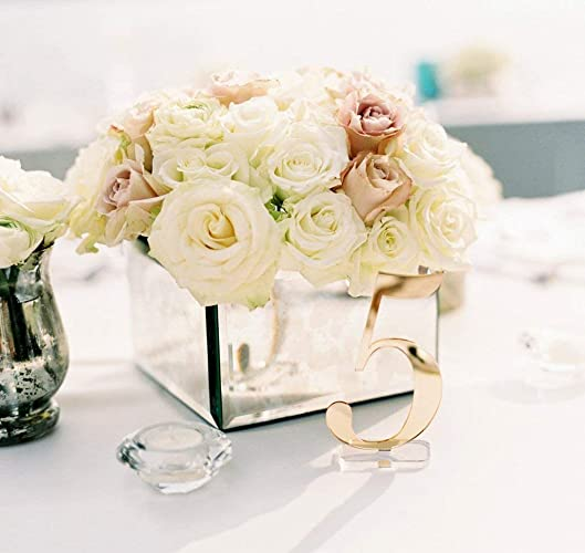 Amazon Table Numbers For Wedding Party Or Event Gold Or Silver