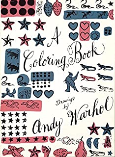 Andy Warhol Coloring Book Mudpuppy Andy Warhol 9780735346062