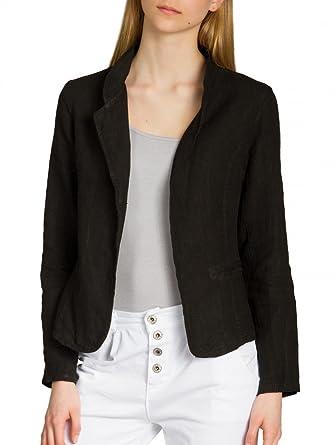 39170d970713a CASPAR Fashion Caspar BZR004 Veste Blazer en Lin pour Femme  Amazon ...