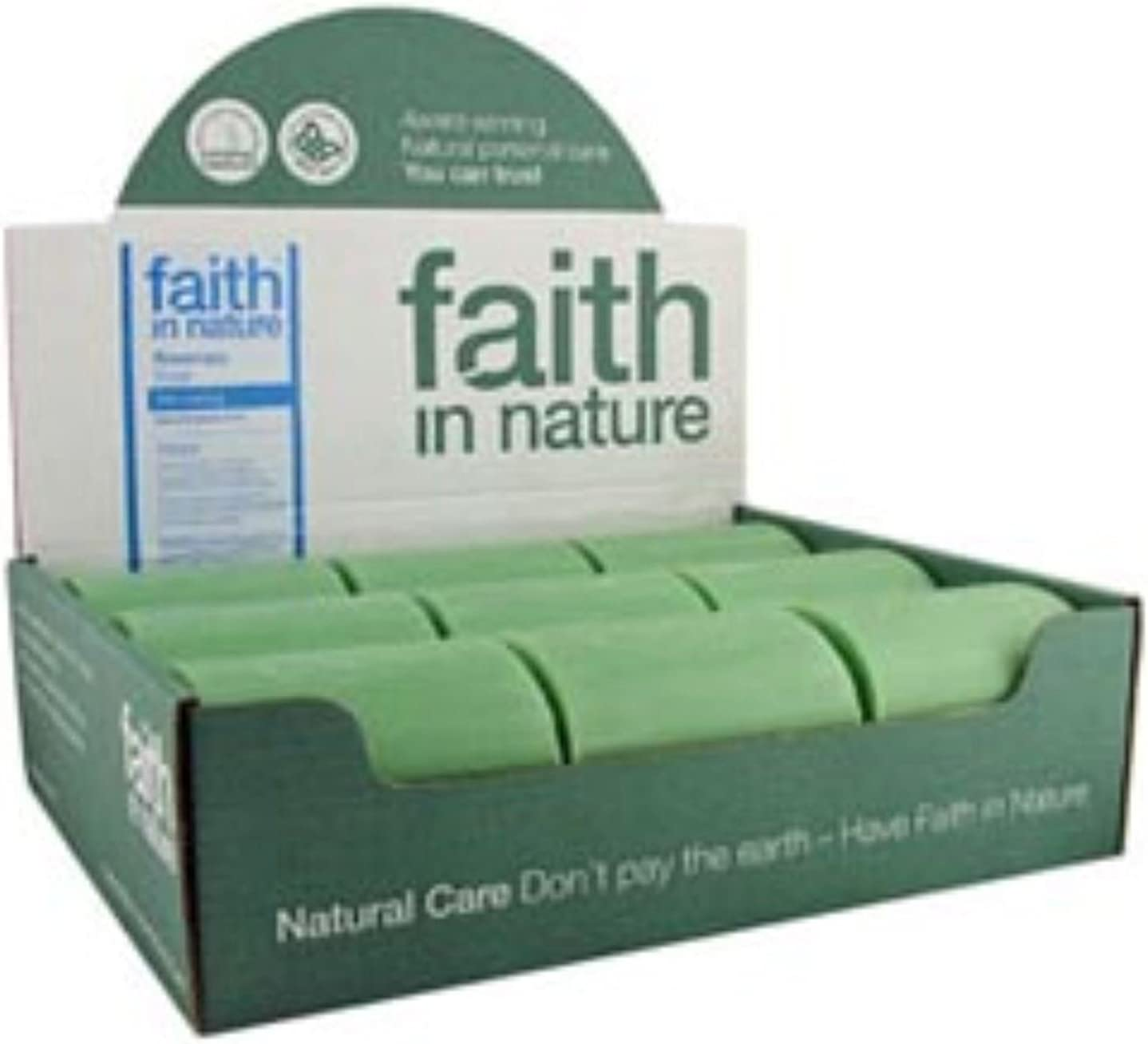 Rosemary Soap Unwrapped 18 Box Faith in Nature