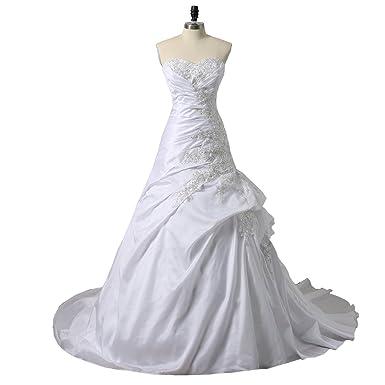 Taffeta Corset Wedding Dresses