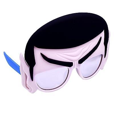 Costume Sunglasses Star Trek Mr Spock Sun-Staches Party Favors UV400: Toys & Games