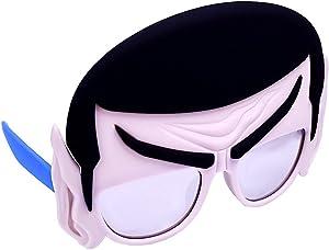 Costume Sunglasses Star Trek Mr Spock Sun-Staches Party Favors UV400