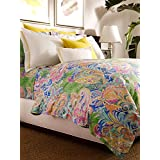 Ralph Lauren Home Flying Point Paisley Blue & Green TWIN Duvet Cover by RALPH LAUREN