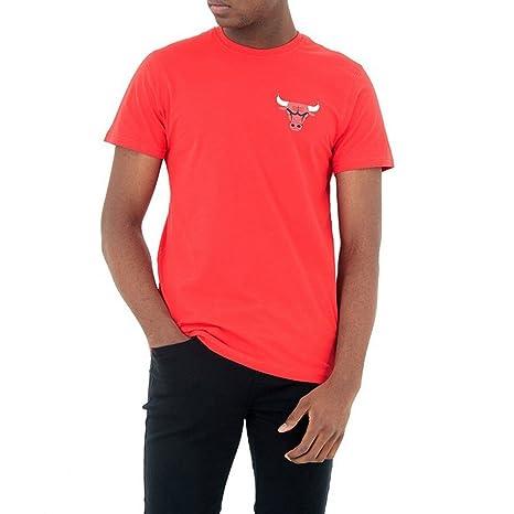 Camiseta New Era – Nba Chicago Bulls Tip Off Chest N Back rojo talla: XS