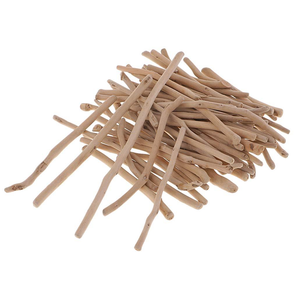 F Fityle Tranches Bois Flott/é Naturel Branches Rustique Artisanales Loisir Cr/éatif Bricolage Artisanat Brut Confetti 50-80mm