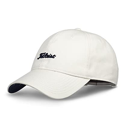 7cb33b4d401 Buy Titleist Men s New Adjustable Nantucket Golf Caps - (White ...