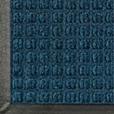 Andersen 200 Waterhog Classic Polypropylene Fiber Entrance Indoor/Outdoor Floor Mat, SBR Rubber Backing, 4-Feet Length X 3-Feet Width, 3/8-Inch Thick, Navy