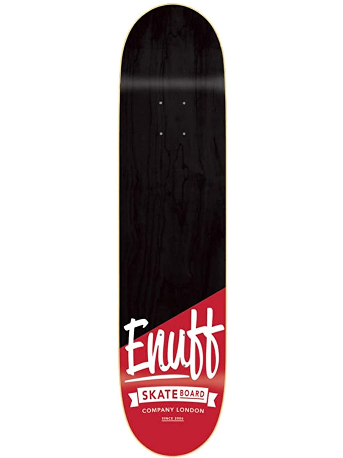 Enuff schwarz rot Dip Stained 8 Inch Skateboard-Deck
