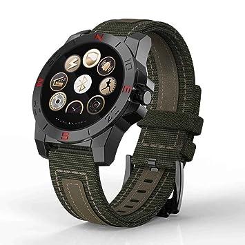 Deportes pulsera reloj inteligente, smart reloj deportivo multifunción con barómetro, altímetro, termómetro,