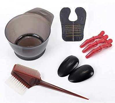 Juego de herramientas de peine de tinte para el cabello ...