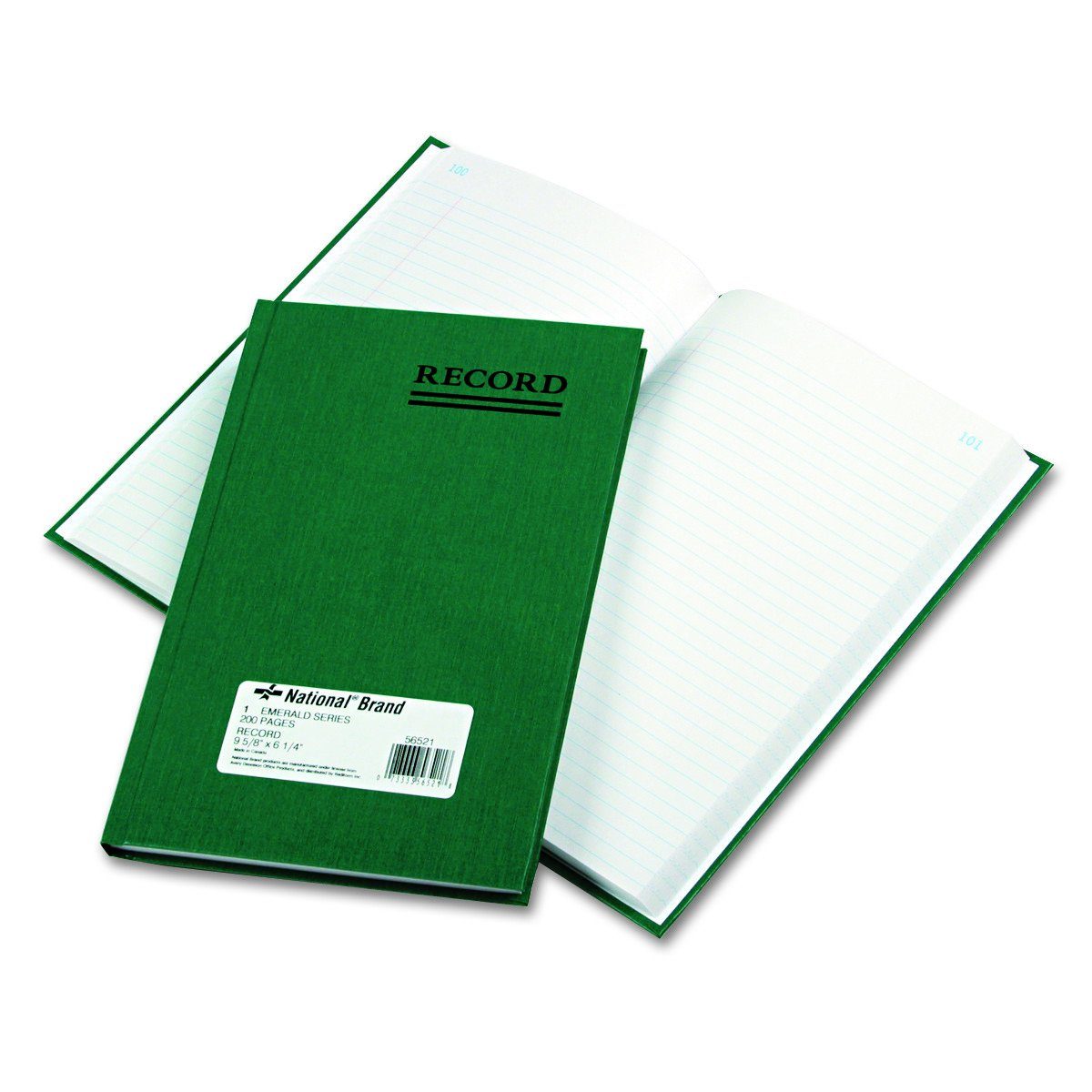 National Emerald Series Account Book, 200 Pages (56521)