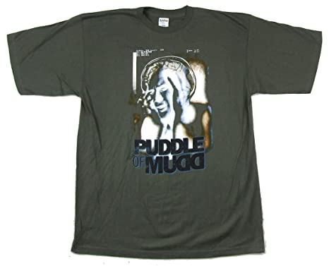 Amazon com: Puddle of Mudd Out of My Head 2002 Tour Green T
