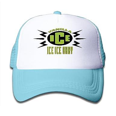 Amazon.com  Kid Vanilla Ice Ice Ice Baby Asong Cover Adjustable Snapback  Mesh Trucker Hat  Clothing 6966166657b