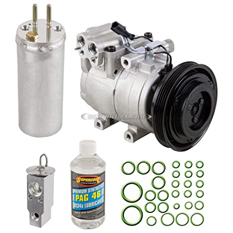 Nueva Original AC Compresor & embrague + a/c Kit de reparación para Elantra &