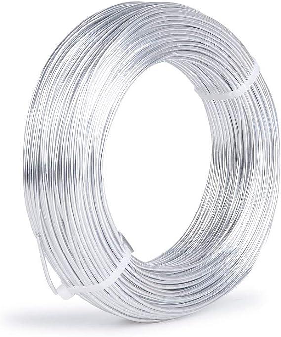 Aluminium-Draht Ideen mit Herz Schmuckdraht zum Basteln Basteldraht /Ø 2mm braun 10 m lang