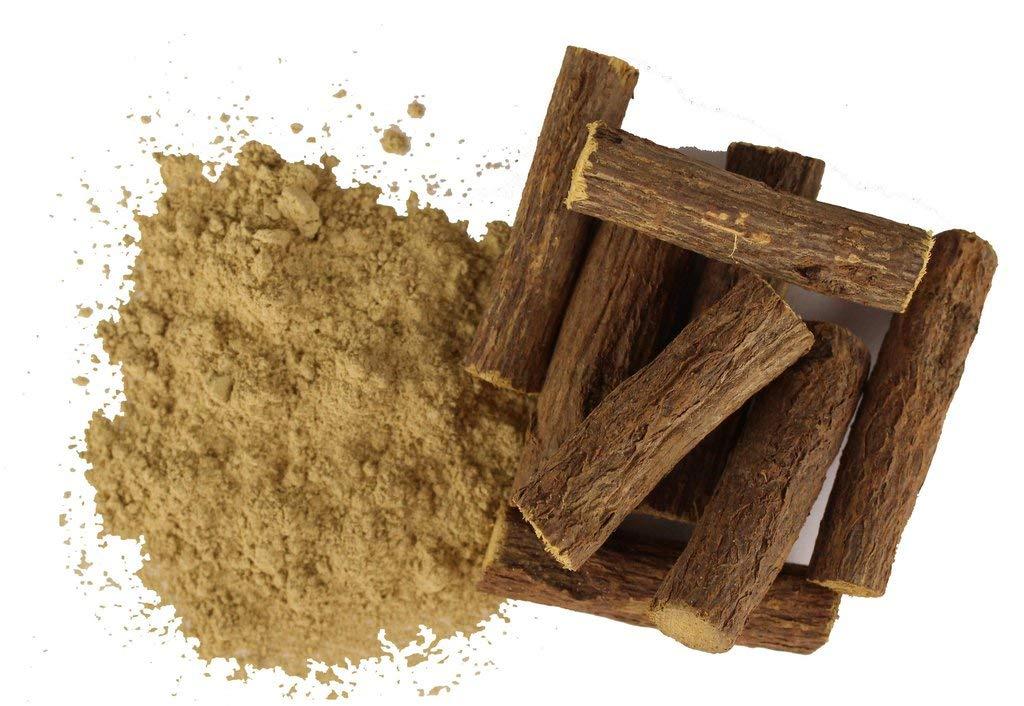 100% Pure Natural Liquorice Licorice Root Powder Mulethi Yashtimadhu Powder (2 Kg)