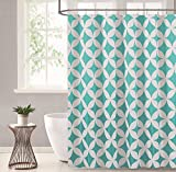 #10: Stylish Home Shower Curtains: Includes 1 Shower Curtain and 12 Decorative Hooks (70