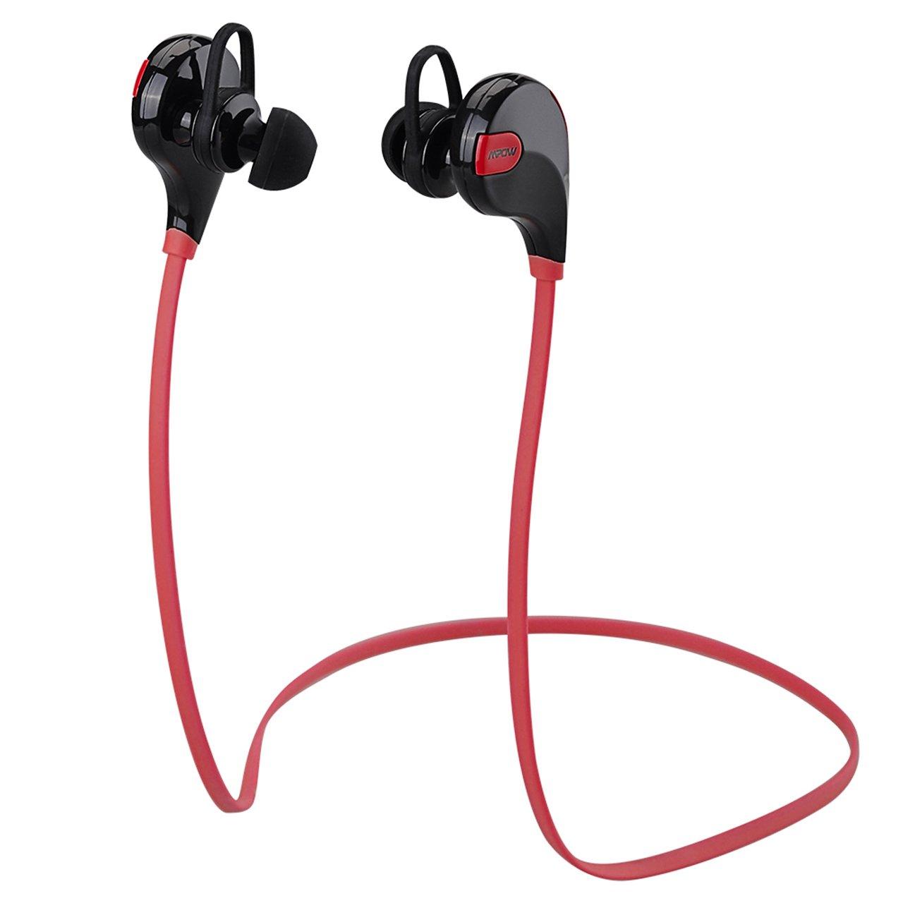 [Modified Versión] Mpow Swift estéreo inalámbrico Bluetooth 4,0 deporte auriculares funcionamiento auriculares auriculares con MIC manos libres ...
