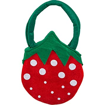 Erdbeere Tasche Märchenhafte Erdbeer Handtasche für Damen und Mädchen Accessoire