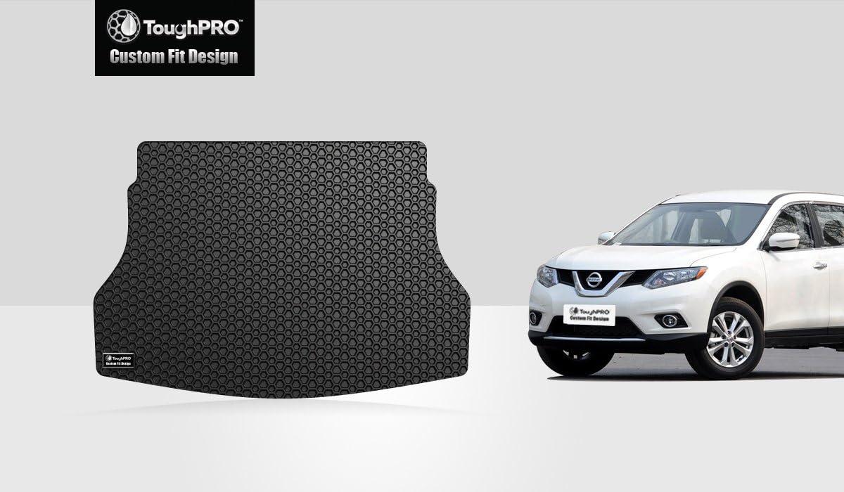 ToughPRO Honda CR-V Floor Mats 2017-2018-2019 AUTO MATS ZONE INC All Weather- Heavy Duty Black Rubber