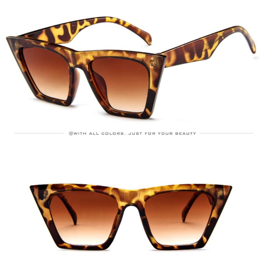 Mujer Oversized Gafas De Sol Polarizadas Protección UV400 Grande Marco Gafas de verano playa de viaje sombras moda Gafas Ciclismo Hombre ☀ Amlaiworld ...