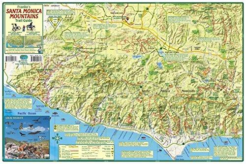 Santa Monica Mountains California Trail Guide Franko Maps ...