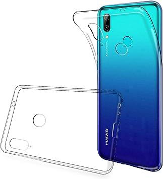 ANEWSIR Coque pour Huawei P Smart 2019, Ultra Fine TPU Silicone Transparent Souple Housse Etui Coque pour P Smart 2019, Case de Protection Housse ...