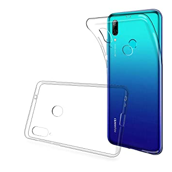 ANEWSIR Funda para Huawei P Smart 2019, P Smart 2019 Funda Carcasa Cubierta TPU Silicona Goma Suave Case Cover Play Fino Anti-Arañazos - Transparente.
