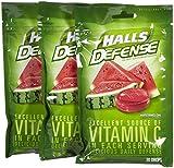 Halls Defense Watermelon Drops, 30 ct, 3 pk