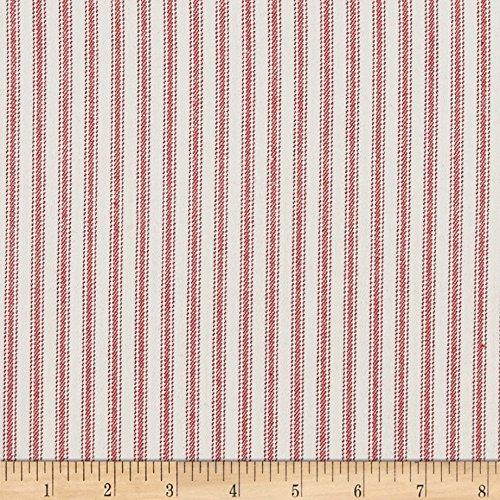WAVERLY Classic Ticking Fabric, Americana