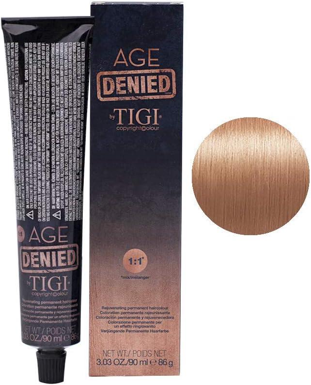 9/4 Very light copper blonde Tigi Age Denied 90ml - rubio muy ...