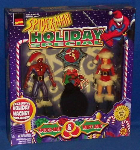 (Spider-Man Holiday Special w/Mary Jane Action Figure Box Set)
