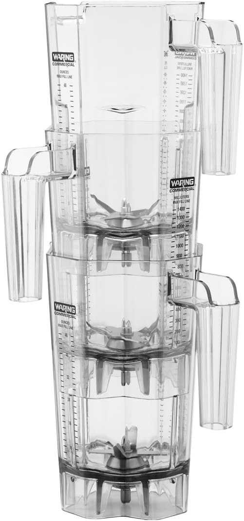 Waring Commercial CAC139 Blender Jar, Clear